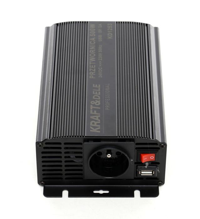 przetwornica prądu DC/AC KD1250